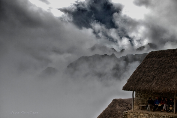 Machu Picchu Morning Clouds