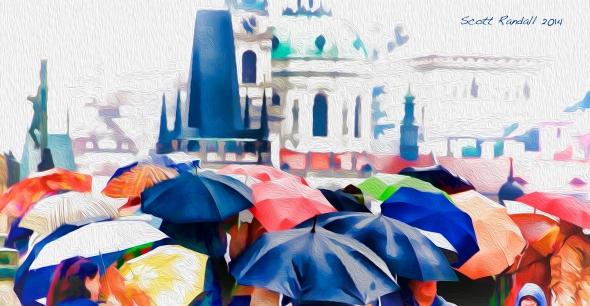 Rainy Day Praha