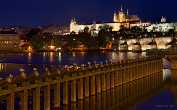 The Angles of a Praha evening