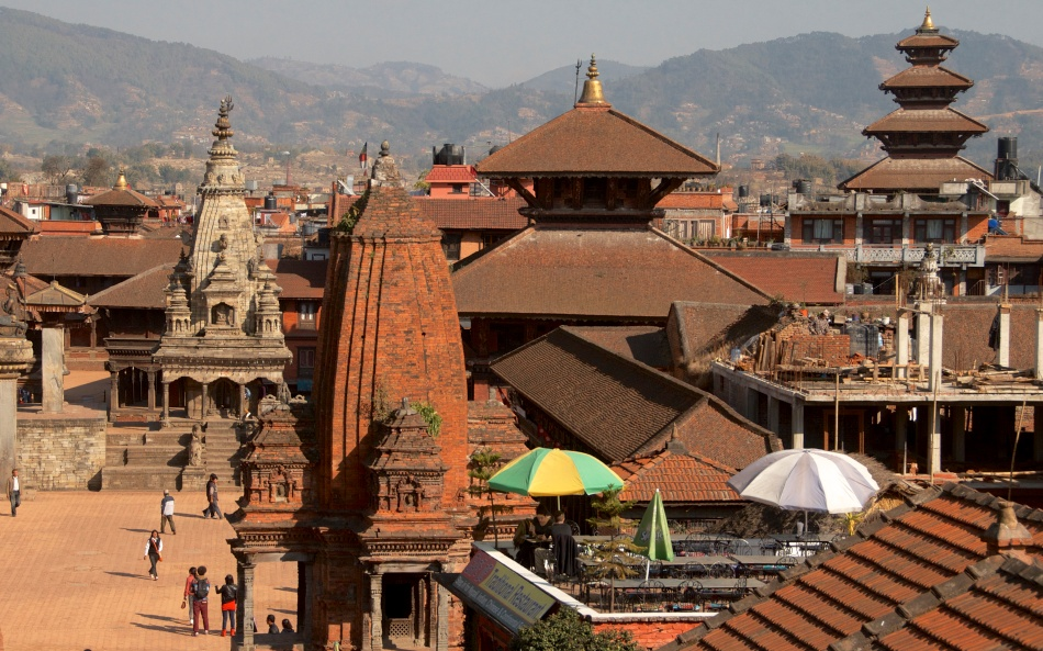 Bhaktapur in better times...