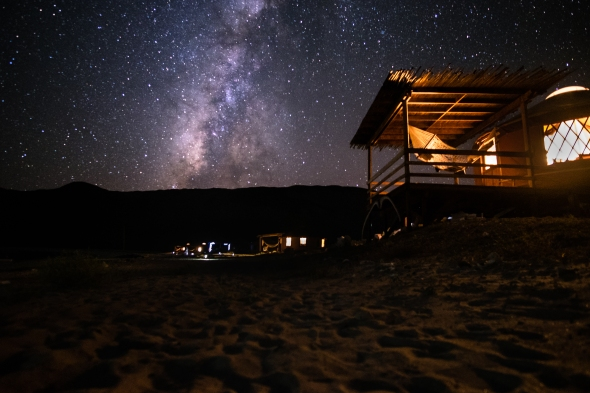 Home to the stars.....
